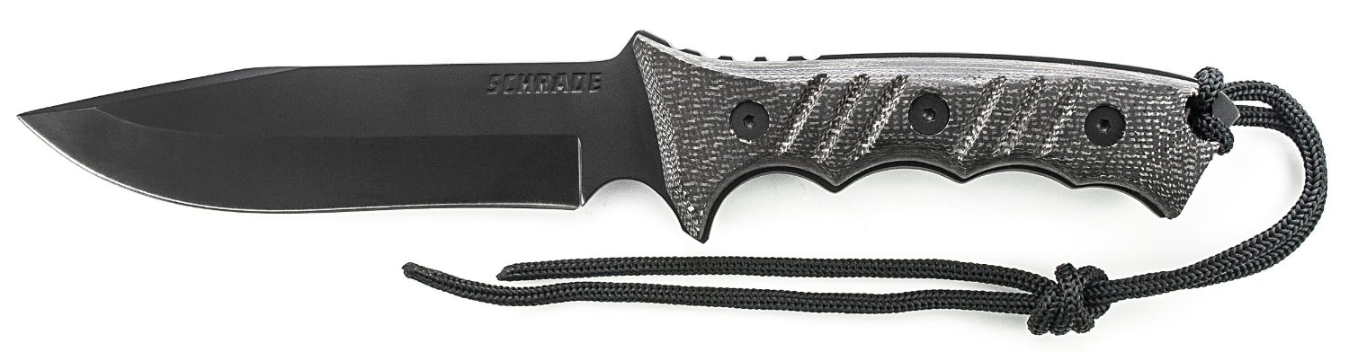 schrade extreme survival outdoor messer test survival
