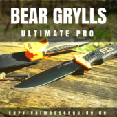 Gerber Bear Grylls Ultimate PRO Survival Messer Test 2017