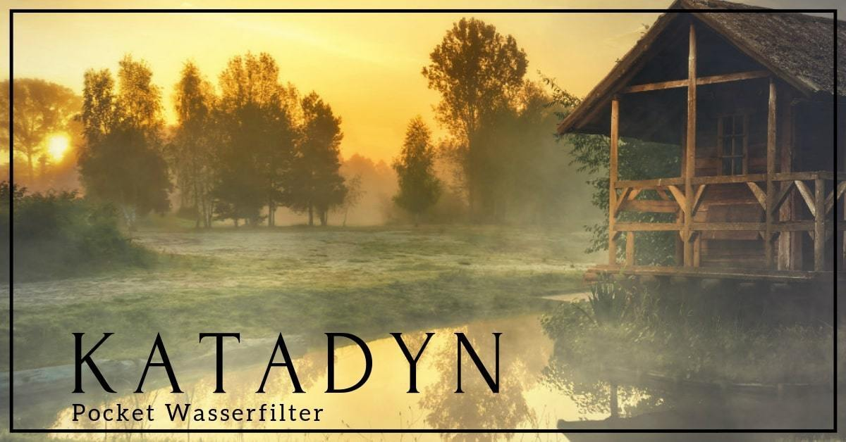katadyn pocket waserfilter test
