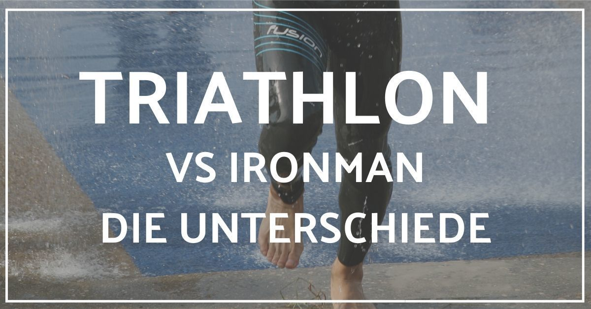 Ironman vs Triathlon