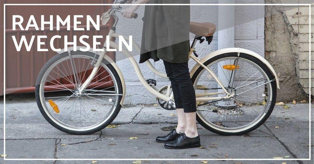 fahrradrahmen wechseln kosten